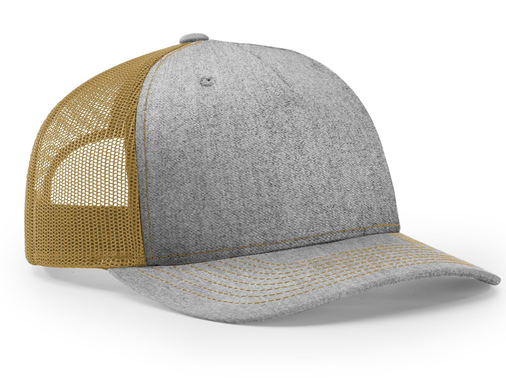 Richardson 5 Panel Trucker Twill Mesh Snapback image