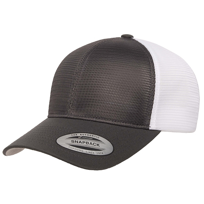 ALL Mesh Adjustable Two Toned Trucker Cap image