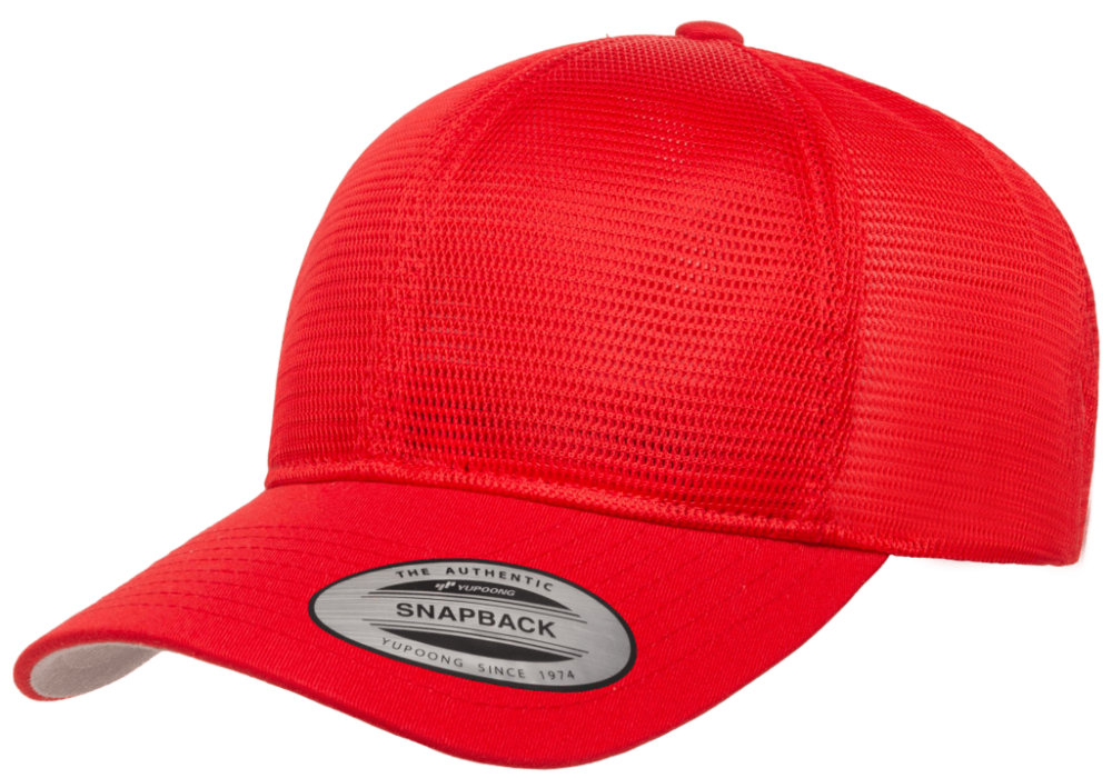 ALL Mesh Adjustable Solid Trucker Cap image