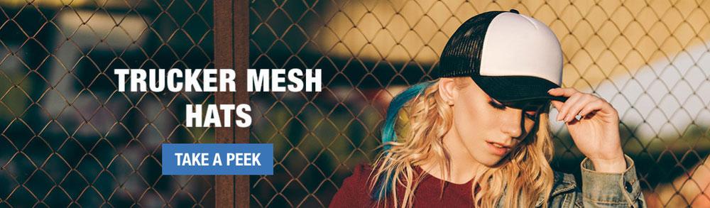Trucker Mesh Hats image