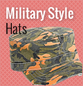 Military Army Style Hats