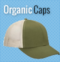Organic Caps : Custom, Blank and Wholesale Caps