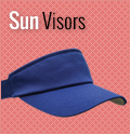 Sun Visors  : Custom, Blank and Wholesale Caps