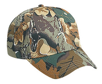 Otto Youth Camouflage Cotton Twill Low Profile Pro Style Cap | Wholesale Blank Caps & Hats | CapWholesalers
