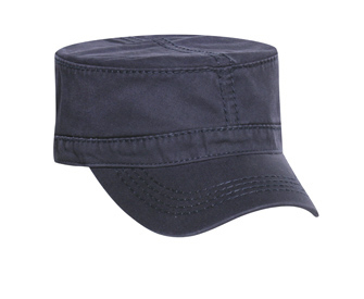 Otto Wholesale Caps | Garment Washed Cotton Twill Military Style