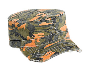 Otto Wholesale Caps | Camouflage Garment Washed Cotton Twill Military Style | Wholesale Blank Caps