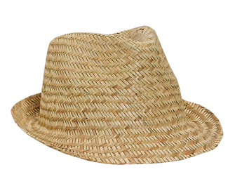 Otto Wholesale caps | Natural Straw Fedora Hats
