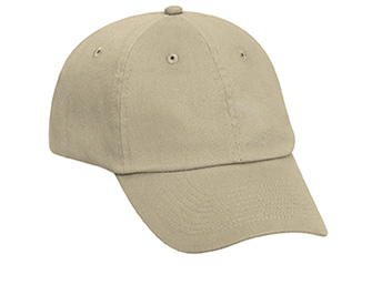 Otto Brushed Bull Denim Low Profile Pro Style | Wholesale Blank Caps & Hats | CapWholesalers
