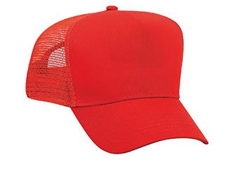 Otto Cotton Twill Pro Style Mesh Back   Wholesale Blank Caps & Hats   CapWholesalers