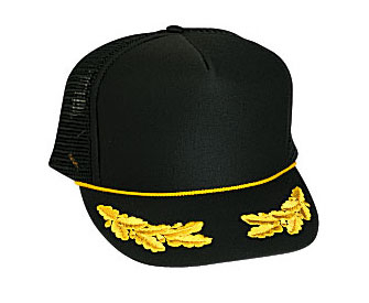 Otto Foam Front Scrambled Eggs High Crown Golf Style Mesh Back | Wholesale Blank Caps & Hats | CapWholesalers