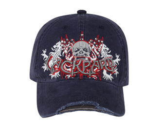 Otto 3D Lackpard Printed Skull Design | Themed & Decorated Caps