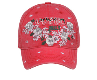 Otto Lackpard Skulls Design | Themed & Decorated Caps