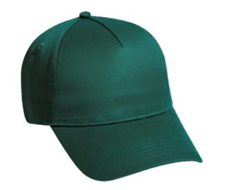 Otto Cotton Twill Five Panel Low Profile Pro Style Cap | Wholesale Blank Caps & Hats | CapWholesalers