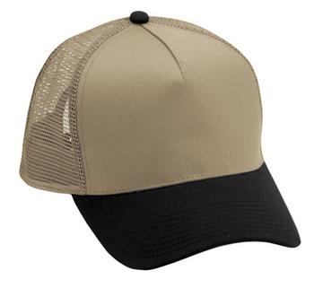 Cobra 5-Panel Low Pro Cotton Mesh Back | Wholesale Blank Caps & Hats | CapWholesalers