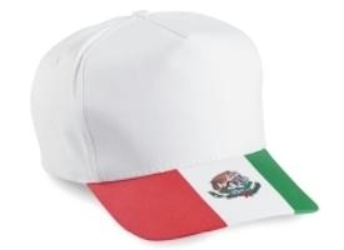 5-Panel Mexico Flag Hat | Wholesale Caps & Hats From Cap