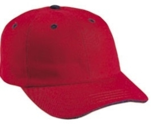 Cobra 6-Panel Heavy Brushed Relaxed with Sandwich | Wholesale Blank Caps & Hats | CapWholesalers