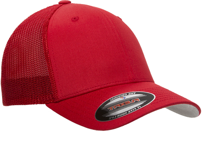 Yupoong Flexfit Cotton Trucker Mesh Hat | Wholesale Blank