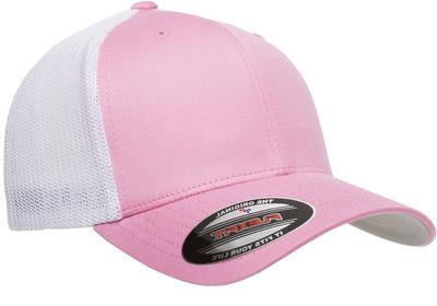 Yupoong Flexfit Hats: Wholesale Flexfit  Trucker Hats, Cotton Front & Mesh Back