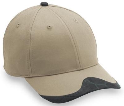 Cobra Caps: Wholesale 6-Panel Leatherette Peak Hat   Wholesale Blank Caps & Hats