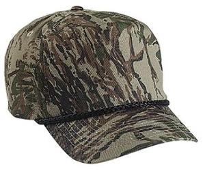 Cobra-5 Panel Cotton Twill Camouflage | Wholesale Blank Caps & Hats | CapWholesalers