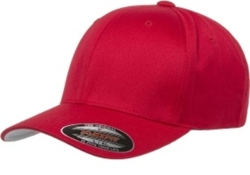 Yupoong Hats: Double Extra Large Twill Flexfit Hats - CapWholesalers.com