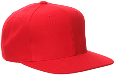 Yupoong-Pro Style Wool Baseball Cap w Flat Bill 68e6589bee20