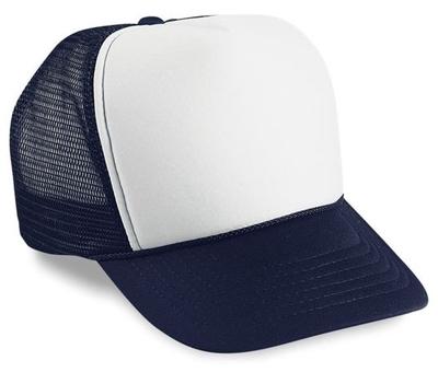 Cobra Polyester Foam Mesh Cap   Wholesale Blank Caps & Hats   CapWholesalers