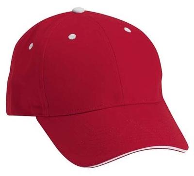 Cobra Caps: Wholesale Cobra Caps 6-Panel Light Brushed Cotton Twill Cap
