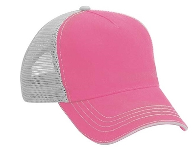 5-Panel Garment Washed Twill Front Soft Mesh Back | Wholesale Blank Caps & Hats | CapWholesalers