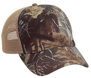 Cobra 5 Panel Brushed Superflauge Game Camo | Wholesale Camo Caps