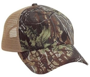 Cobra-6-Panel Brushed Superflauge Game Camo | Wholesale Camo Caps