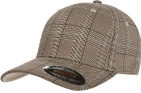 Yupoong Flexfit Glen Check Cap | Wholesale Blank Caps & Hats | CapWholesalers