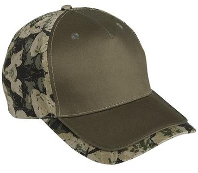 Cobra 5-Panel Camo Edge | Wholesale Blank Caps & Hats | CapWholesalers