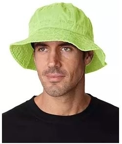Adams Cotton Pigment Dyed Bucket Hat  6d9ad8d7cbd5