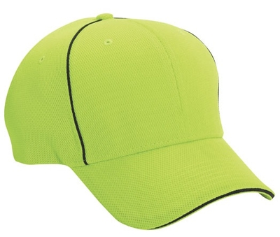 Cobra 6-Panel Structured 100% Polyester Cap   Wholesale Blank Caps & Hats   CapWholesalers