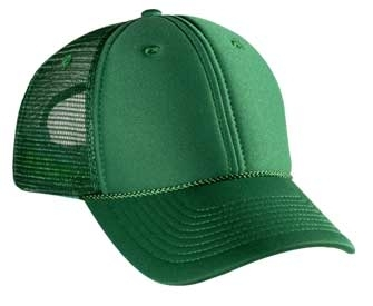 Otto Polyester Foam Front Low Profile Pro Style Mesh Back Cap | Wholesale Blank Caps & Hats | CapWholesalers