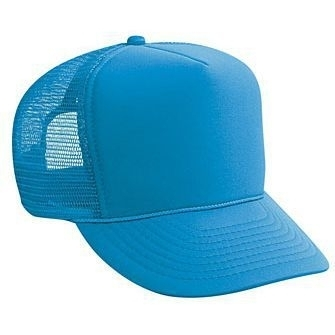 Otto-Foam Front High Crown Golf Mesh Back Caps | Wholesale Blank Caps & Hats | CapWholesalers