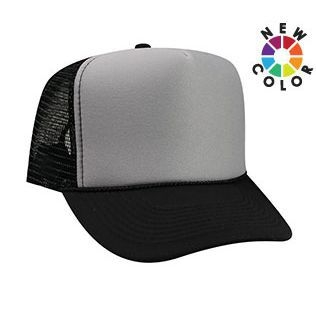 Otto Foam Front High Crown Mesh Back | Wholesale Blank Caps & Hats | CapWholesalers