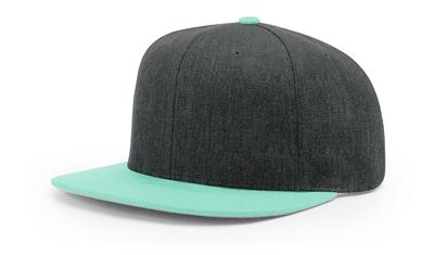 Richardson Caps: Flat Bill Snap Back Cap   Wholesale Snapback Caps & Hats