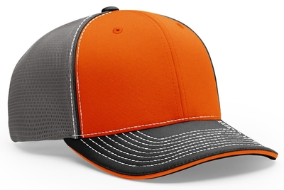 Richardson 172 Sport Mesh with Piping Hat | Wholesale Blank Caps & Hats | CapWholesalers