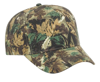 Otto Wholesale Caps | Camouflage Brushed Cotton Twill | Wholesale Blank Caps
