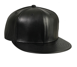 Otto Wholesale Caps | Leather Flat Visor Pro Style