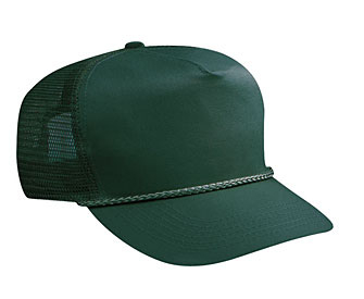 Otto Cotton Twill High Crown Golf Style Mesh Back | Wholesale Blank Caps & Hats | CapWholesalers