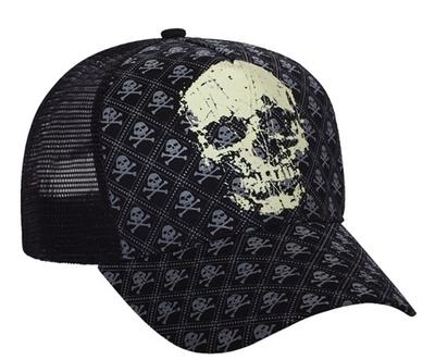 Mega Pro Style Fitted Mesh Skull Cap | Wholesale Blank Caps & Hats | CapWholesalers