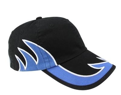 Mega Caps | Mega-Low Profile Washed Cotton Twill Flame Cap