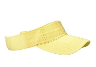 Mega Cotton Twill Washed Soft Visor | Wholesale Blank Caps & Hats | CapWholesalers