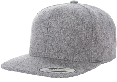 Yupoong-Melton Wool Adjustable Snap Back e8988445307