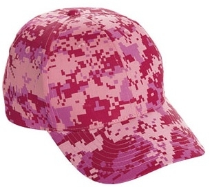 Cobra-6 Pnl Camo Structured | Wholesale Camo Caps