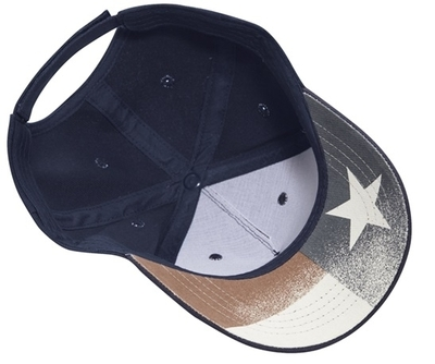 Cobra 5 Panel Brushed with USA under Bill | Patriotic & Novelty Caps