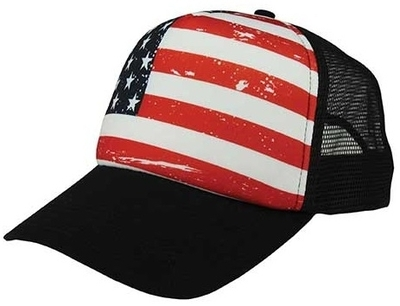 USA Trucker Cap | Wholesale Blank Caps & Hats | CapWholesalers